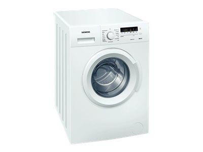 Siemens Iq100 Wm14b262dn - Vaskemaskine - Fritstående - Bredde: 60 Cm - Dybde: 56 Cm - Højde: 85 Cm - Frontbetjening - 42 Liter - 6 Kg - 1400 Rpm - H